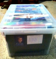 I have been looking for the best way to keep all of my sons school work for the year and came across this idea. This is a great idea and i will be about to put all his school years together, organized! I cant wait to get started!