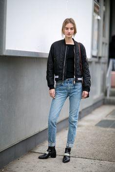 Model Street Style at Fashion Week Fall 2016   POPSUGAR Fashion