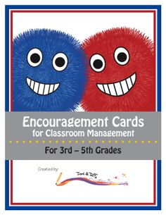 I have used this in my classroom as a way to positively motivate my students. The Warm Fuzzy Cards work great to highlight students' good choices and therefore encourage more good behavior. These cards are a great supplement for your already working classroom management plan; and they can be used all year long. (Please note that this is not a full management plan with rewards and consequences.) Grades 3-5. $