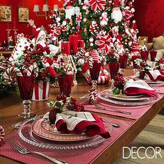 Tendências para decorar a mesa de Natal e fugir do óbvio. Veja mais: www.revistadecor.com.br