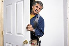 Tom Silva does a plumb job putting up a prehung door Prehung Interior Doors, Prehung Doors, Interior Barn Doors, Interior Design Colleges, Carpentry Skills, Phillips Screwdriver, Kia Sorento, Diy Door, Decorating Blogs