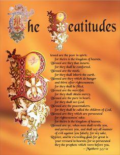 Matthew 5:3-12