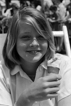 Jodie Foster in the 1970's