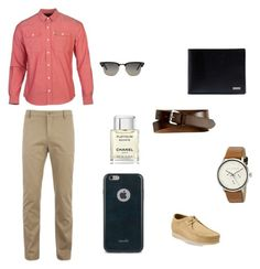 """""""Untitled #8"""" by abbyyy1745 ❤ liked on Polyvore featuring Parker Dusseau, Lacoste, Banana Republic, Moshi, Ray-Ban, Dolce&Gabbana, Chanel, Clarks, Ted Baker and men's fashion"""