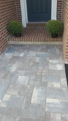 paver sidewalk