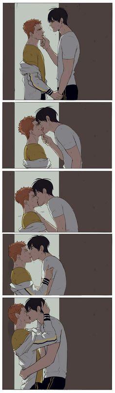 19 days - More kissing by Bisho-s on DeviantArt 19 Days Anime, 19 Days Manga Español, Handsome Anime Guys, Cute Gay Couples, Sasunaru, Fanart, Shounen Ai, Anime Ships, Manga Comics