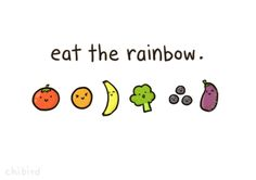 Not in skittles, but in fruits and vegetables! :D
