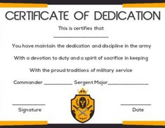 salvation army certificates of dedication - Certificate Of Salvation Template