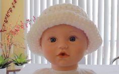 Quick Crochet Baby Hat