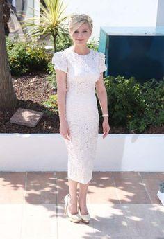 Cannes 2012 - Kirsten Dunst in Dolce & Gabbana