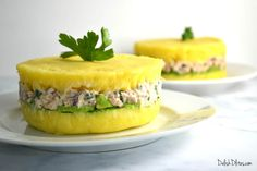 Peruvian causa rellena is the perfect picnic recipe, and such a showstopper. Lemony mashed potatoes are layered with avocado and tuna salad, then unmolded to show off the gorgeous layers. Get the recipe for causa rellena now! Peruvian Recipes, Cuban Recipes, Low Carb Recipes, Baking Recipes, Peruvian Dishes, Easy Recipes, Peruvian Potatoes, Creamy Mustard Sauce, Salads