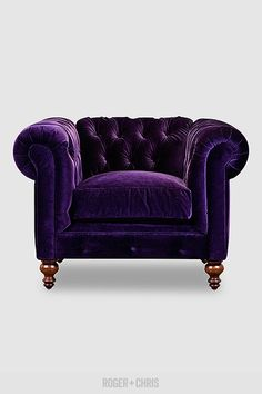 Higgins Chesterfield armchair in Cannes
