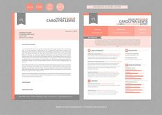 Check out Resume CV and Cover Letter Set by Blissful Pixels on Creative Market