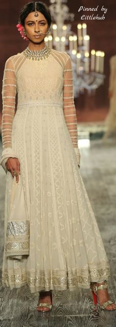 Pinterest: @Littlehub || คdamant love on Anarkali's ✿。。ღ || Tarun tahiliani icfw collection