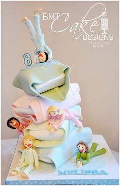 Sleepover Party - by BMTCakeDesigns @ CakesDecor.com - cake decorating website