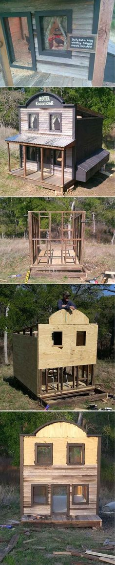 The Eggcelsior | 15 More Awesome Chicken Coop Ideas and Designs | Cheap and Easy DIY Projects For Your Homestead by Pioneer Settler at http://pioneersettler.com/15-awesome-chicken-coop-ideas-designs/