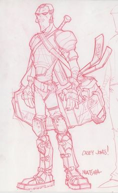 Jeff Matsuda - Character Design Page