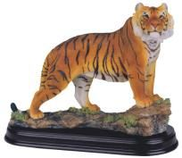 "Bengal Tiger Collectible Wild Cat 7.5"" Figurine - Free Shipping & Photon Gift"