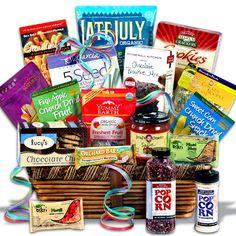 Gluten Free Gift Basket Premium™ by GourmetGiftBaskets.com
