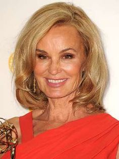 Jessica Lange poses at the 64th Primetime Emmy Awards at Nokia Theatre L.A. Live on Sept. 23, 2012 i... - Steve Granitz/WireImage/Getty Images