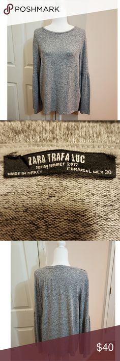 9ff49c911 Zara Trafaluc Sweater Zara Trafaluc Sweater. Size large. Excellent  condition Zara Sweaters Crew