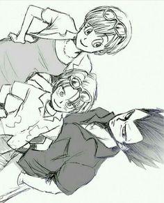 Dragon Ball Z, Goku Manga, Anime Manga, Bulma Y Trunks, Sailor Chibi Moon, Kawaii Anime, Game Art, Drawings, Artwork