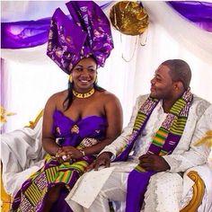 ghana traditional wedding clothing - Google Search