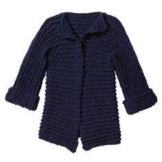 Mäntel und Jacken stricken - die besten Anleitungen - Selbermachen