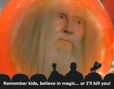 """Merlin's Shop of Mystical Wonders. This was the unofficial last episode of MST3k, for it aired after the official one (""""Diabolik"""")."""