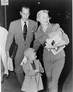 Franchot Tone, Barbara Payton and her son John
