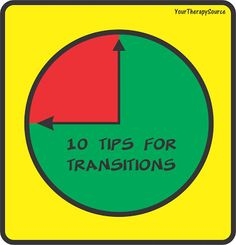 Your Therapy Source - www.YourTherapySource.com: 10 Tips for Transitions