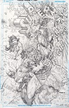 Superman Unchained #7 by Jim Lee