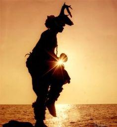 La Danza del Venado- Deer dancer, Yaqui indian.
