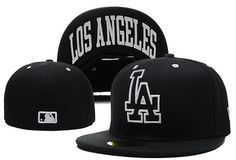 MLB Los Angeles Dodgers 59Fifty Hats Retro Classic Pop Caps Black 111|only US$8.90