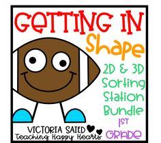 2D & 3D Shape Sortin