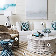 Natural, enduring, textural, comfortable—these are the qualities that make time-honored coastal materials sure bets in a beach home. Here ar...