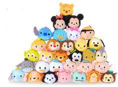 From Japan to US, #Disney Tsum Tsum Plush