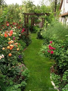 Cool 39 Design Ideas for Beautiful Garden Paths http://homiku.com/index.php/2018/03/20/39-design-ideas-for-beautiful-garden-paths/