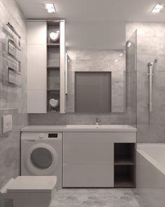 Bathroom Design Luxury, Bathroom Design Small, Modern Bathroom, Home Room Design, Home Interior Design, House Design, Laundry Room Bathroom, Bathroom Layout, Small Room Bedroom