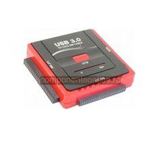 Adaptor IDE-SATA, pe USB 3.0 - 114464 Multimedia, Ipod, Usb, Electronics, Ipods, Consumer Electronics