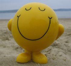 happy face (: