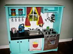 Planet of the Apels: DIY Play Kitchen & FF