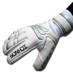 Ichnos Efis Evo adult size football goalkeeper gloves with protective – ICHNOS SPORTS