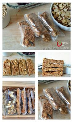 Grab and Go Granola Bars Recipe - Some granola bars were meant to be chewy. This is that bar. http://www.superhealthykids.com/grab-and-go-granola-bars/