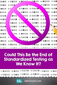 Could This Be the End of Standardized Testing as We Know It? Will the mass cancellation of exams due to the coronavirus lead to the end of standardized testing as we know it? We look at the indicators. Middle School Ela, Middle School English, In High School, Ap Test, Test Prep, Teacher Education, School Teacher, High Stakes Testing, Case Western Reserve University