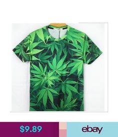 204a0f72 T-Shirts Fashion Mens/Womens Hemp Grass 3D Printing Casual Short Sleeve T-