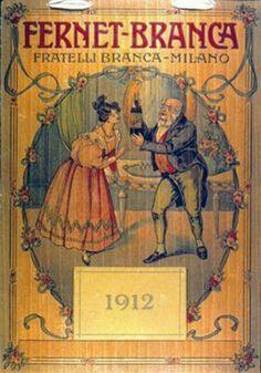 FERNET BRANCA POSTER 1912