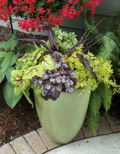Best summer container garden ideas 5