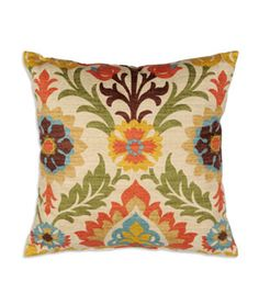 "Waverly 16"" x 16"" Santa Maria Adobe Decorative Pillow 