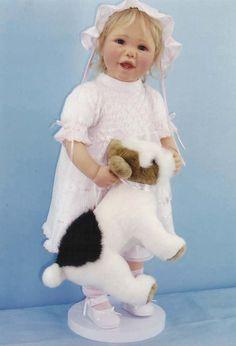 Коллекционная кукла виниловая - Банни